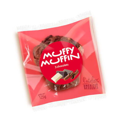 Muffin 3 chocolats (Muffy muffin)