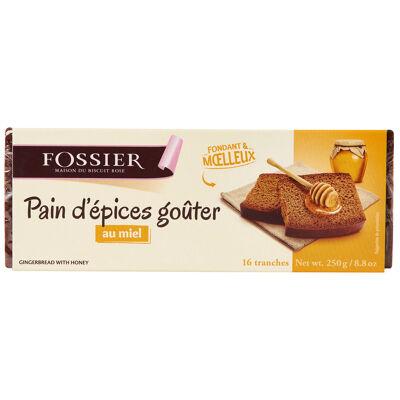 Pain épices goûter miel 250gr (Biscuits fossier)