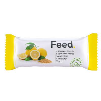 Barre repas citron amarante (Feed.)