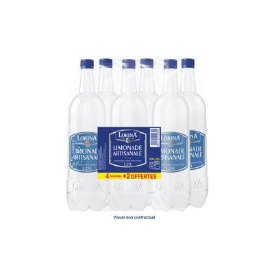Lot de 4+2 offerte lorina cristal limonade artisanale cristal pet 1,25l (Lorina)