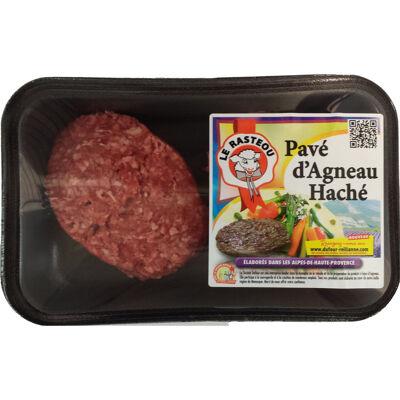 Steak hache d'agneau (Le rasteou)