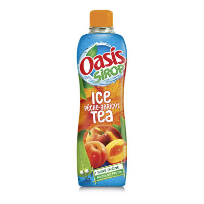Oasis sirop the peche/ab 75cl (Oasis)