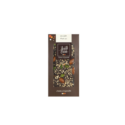 Tablette noir 68% fruits secs (Ile de re chocolats)