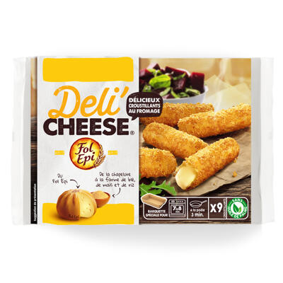Deli'cheese fol epi 9x20g delicieux croustillants au fromage (Deli'cheese)
