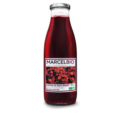 Cocktail de fruits rouges bio 75cl (Marcel bio)