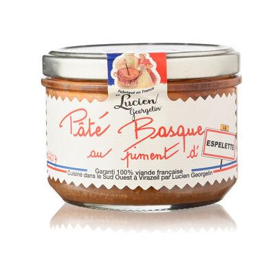 Pate basque au piment d'espelette - 220g vieilles conserves d'autrefois (Les recettes cuites au chaudron)