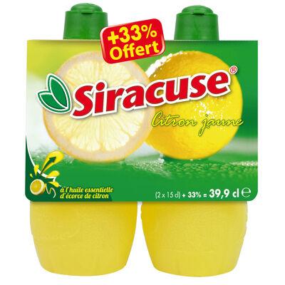 Siracuse jus de citron 2x15 cl +33% offert (Siracuse)