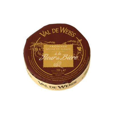 Fromage affiné fleur de bière 200g val de weiss (Val de weiss)