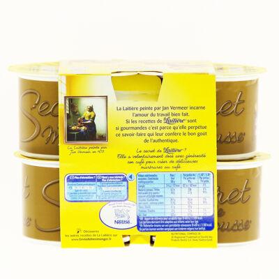 La laitiere secret de mousse cafe 4x59g (La laitiere)