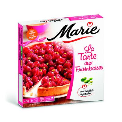 Marie tarte aux framboises surgelée 470 g (Marie)