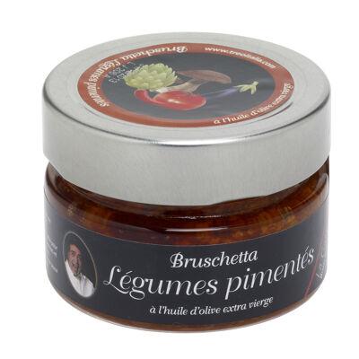 Bruschetta légumes pimentés (Treo)