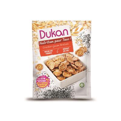 Crackers façon bretzels (Dukan)