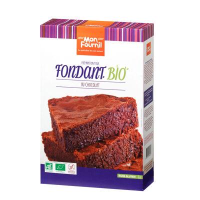 Préparation pour fondant au chocolat bio sans gluten 400g mon fournil (Mon fournil)