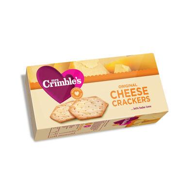 Crackers au fromage sans gluten 130g (Mrs crimbles)
