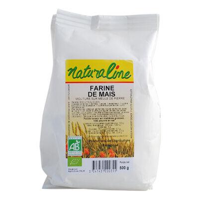 Farine de mais bio 500 g (Naturaline)