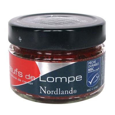 Oeufs de lompe rouge 100g nordland (Nordland)