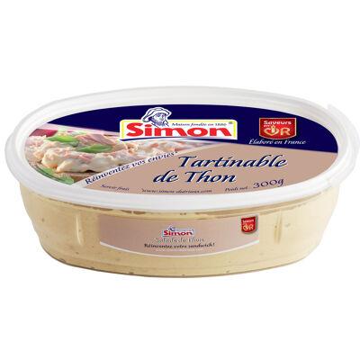 Tartinable de thon 300g (Simon)
