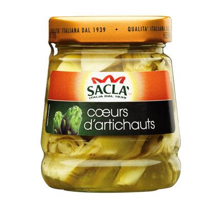 Sacla - antipasto coeurs d'artichauts - 285gr (Sacla)