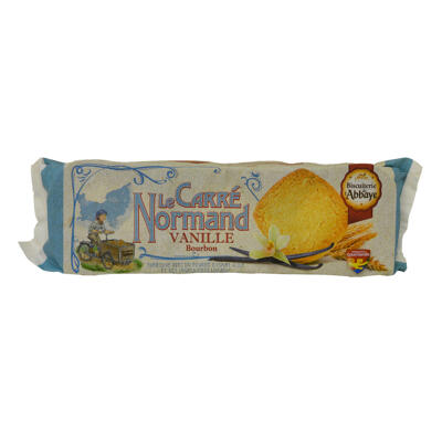 Le carre normand vanille 140g (Biscuiterie de l'abbaye)