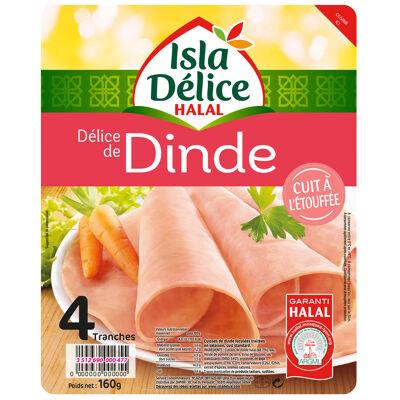 Delice de dinde 4 tranches 160g (Isla délice)