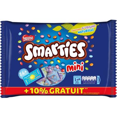 Smarties mini bonbons chocolatés sachet 375g (Nestle)
