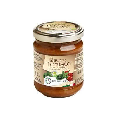 Sauce tomate au basilic genovese dop 180g (L'italie des saveurs)