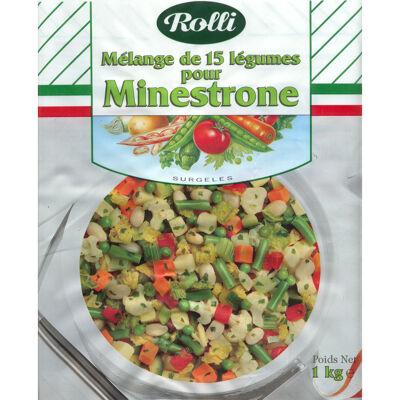 Mélange de 15 légumes pour minestrone (Rolli france)