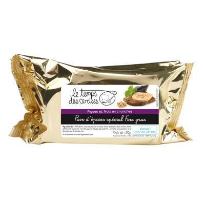 Pain d'épices gourmet figue noix foie gras (Le temps des cerises)
