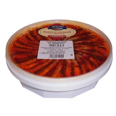 Filets d'anchois à l'orientale (Micéli)