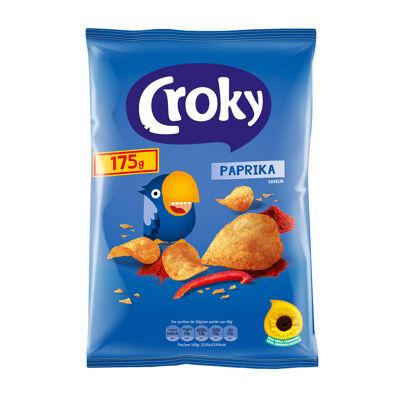 Croky chips paprika 175 g (Croky)