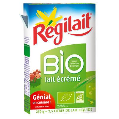 Régilait, lait en poudre écrémé bio 250g (Régilait)
