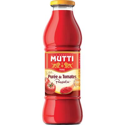 Purée de tomates nature 400g (Mutti)