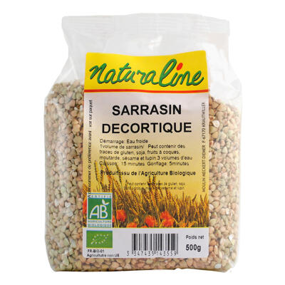 Sarrasin decortique bio 500 g (Naturaline)