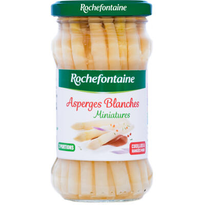 Rochefontaine asperges blanches miniatures bocal 21 cl (Rochefontaine)