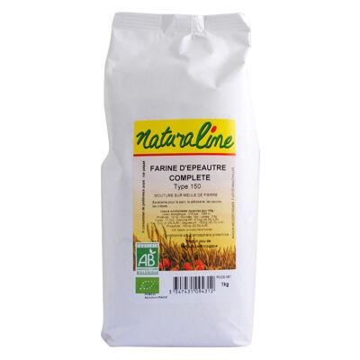 Farine d'epeautre complète bio t150 kg (Naturaline)