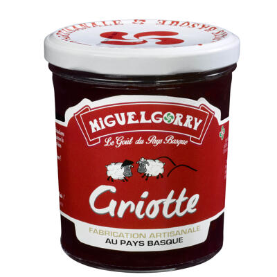 Preparations a base de fruits griotte 320g (Miguelgorry)
