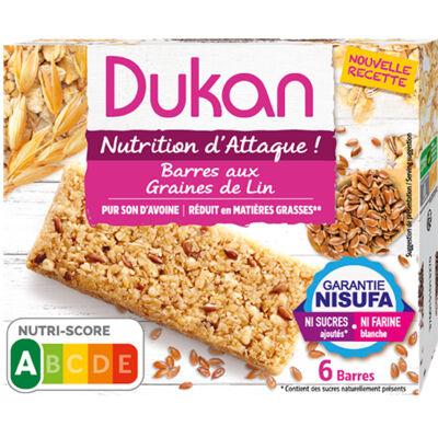 Barres aux graines de lin (Dukan)