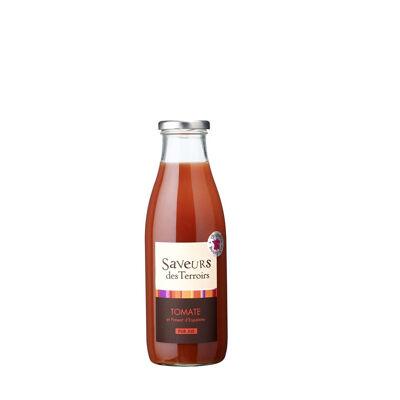 Jus de tomate et piment d'espelette (Saveurs des terroirs)