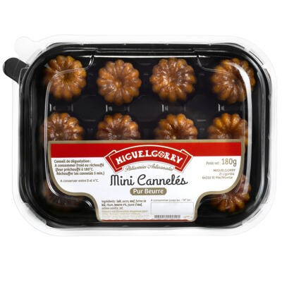 Mini canneles 12x15g (Miguelgorry)