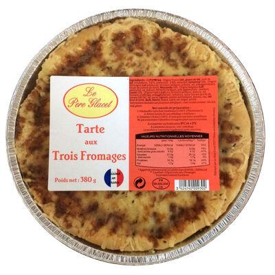 Tarte aux trois fromages 380g (Le père glacet)