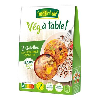 Galettes de légumes confits 150g (Ensoleil'ade)