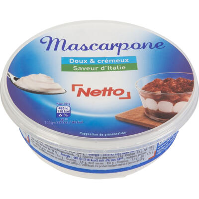 Mascarpone lp 250g (Netto)