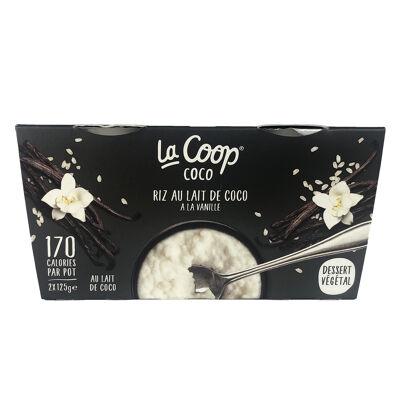 La coop coco riz au lait de coco 2x125gr (La coop)