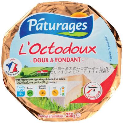 Fromage l'octodoux doux et fondant (Paturages)