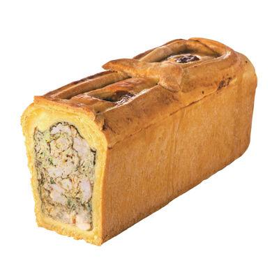 Pate croute blanc de poulet a la moutarde a l'ancienne et au citron (Michel bolard)