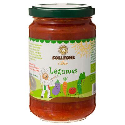 Sauce tomate biologique aux legumes (Solleone bio)