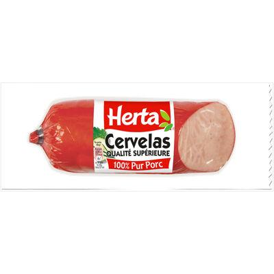 Herta cervelas saucisson porc - 200g (Herta)