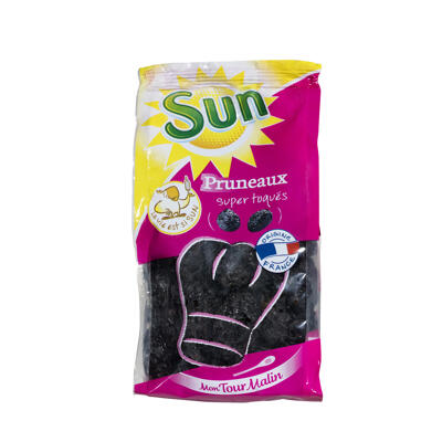 Pruneaux de france 55/66 sac.12x350gr mtm (Sun fruits secs)