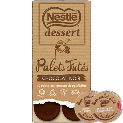 Nestle dessert palets futés chocolat noir 120g (Nestle)