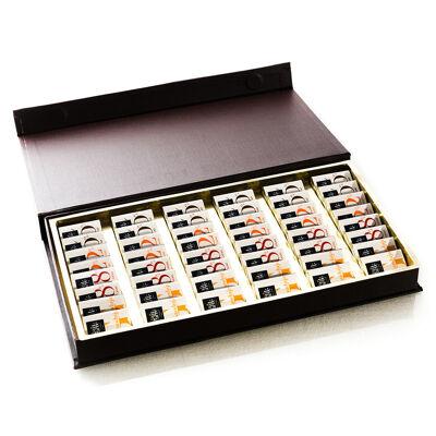 Coffret tentation 48 pces 240g (Le petit carré de chocolat)